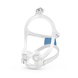 nenänaluskokokasvomaski - uniapnean hoito - ventilaatiohoito - ResMed AirFit F30