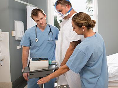 obesiteetti-hypoventilaatiosyndrooma - potilas