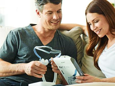 CPAP-sierainmaski - uniapneapotilaat - ResMed 400x300