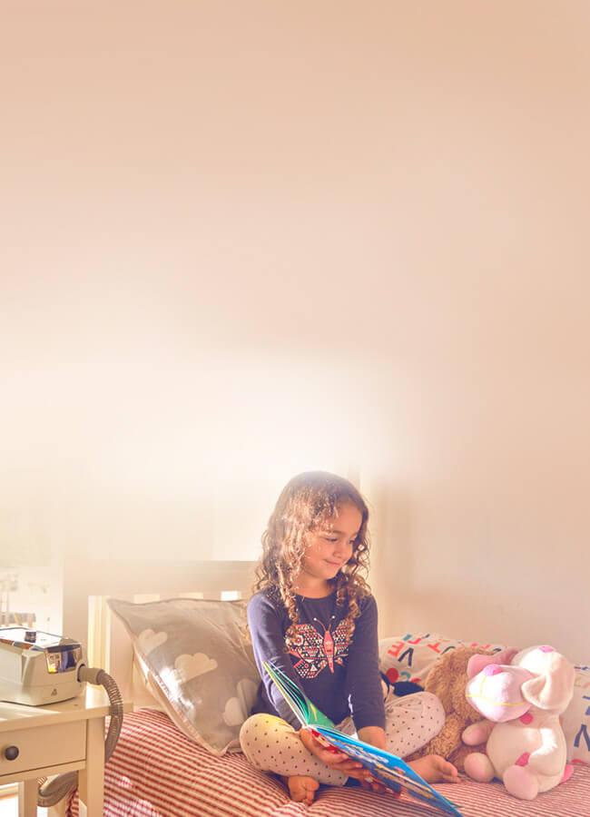 ResMed - Stellar - lapsipotilas - ventilaatiohoito kotikäyttöön